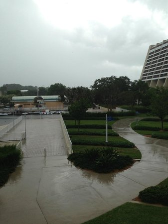 Bay Lake Tower at Disney's Contemporary Resort: View from Room 7234