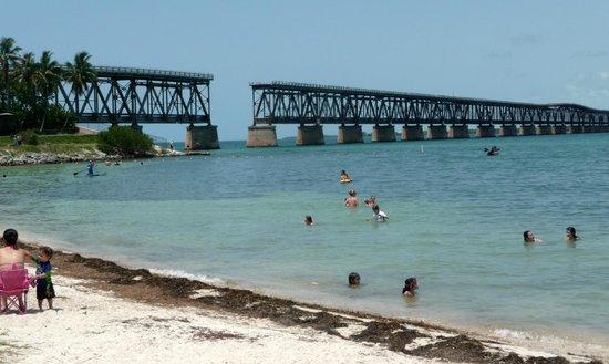 Bahia Honda State Park And Beach A View Of The Old Bridge