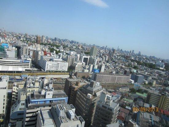 Hotel Metropolitan Tokyo Ikebukuro: lovely morning view from room