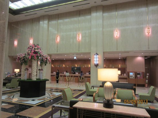 Hotel Metropolitan Tokyo Ikebukuro: Hotel Lobby