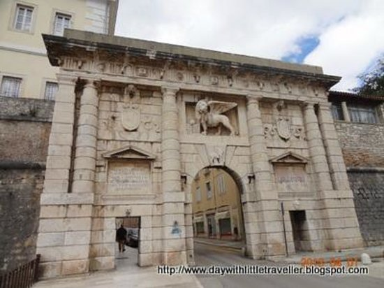 Zadar City Gate: City Gate