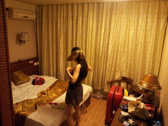 Xiao Yuan Alley Courtyard Hotel: chambre fonctionnel