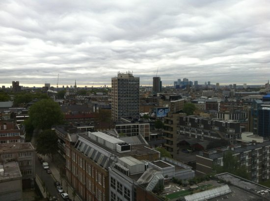 Premier Inn London City (Old Street) Hotel: View from room 1215
