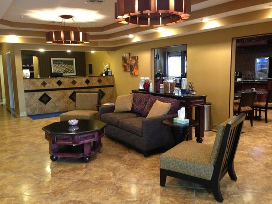 Best Western Manhattan Inn : Lobby