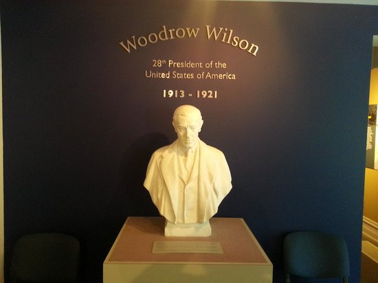 Woodrow Wilson Presidential Library and Museum: Bust of Wilson