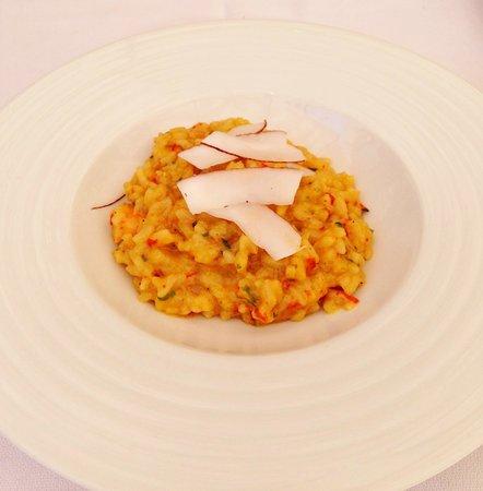 coconut, shrimp risotto - Foto di Clube de Jornalistas, Lisbona ...