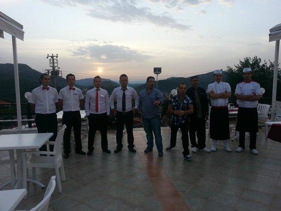 Destina Hotel: The staff.