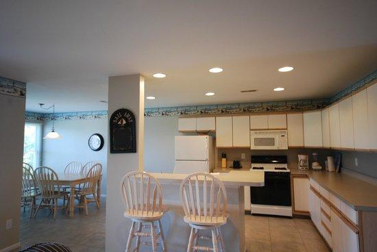 Capri Motor Lodge: Townhouse kitchen