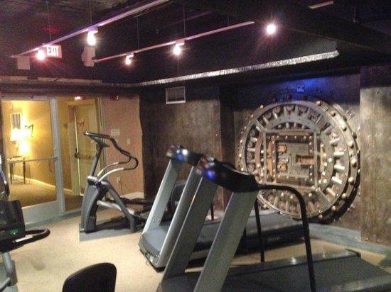 Madison Hotel: Fitness Center