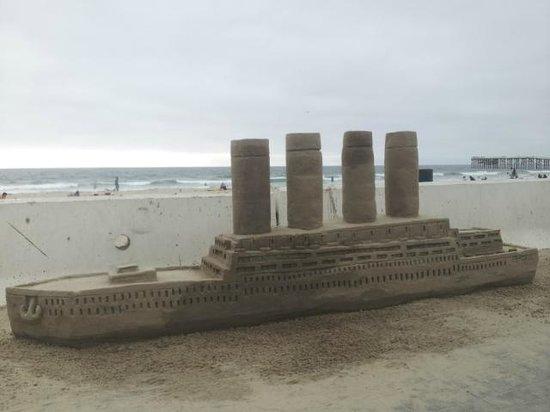 San Diego Sand Castles: 8-22-2012 The Titanic