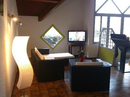 Hotel la Mirandole: reception