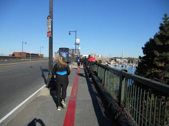 Freedom Trail Run: Final stretch