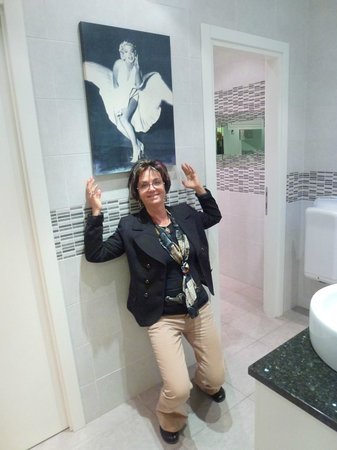 Hotel Lilia : wunderschöne und saubere toiletten im ganzen hotel