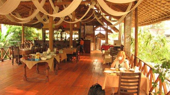 Luang Prabang Paradise Resort: restaurant