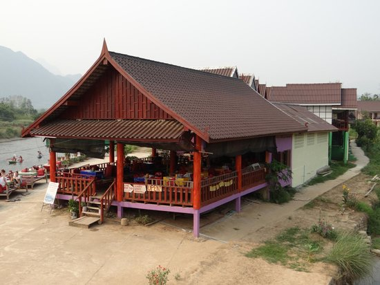 Sayong Guest House and Riverhill Bungalows: restaurant