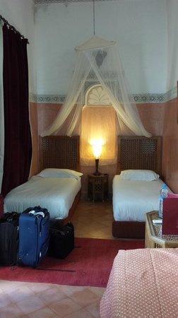 Riad Aguerzame: Our Triple Room