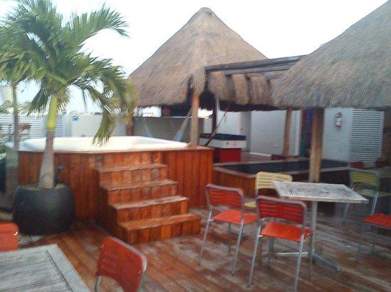 Hostel Mundo Joven Cancun: De mañana muy muy temprano