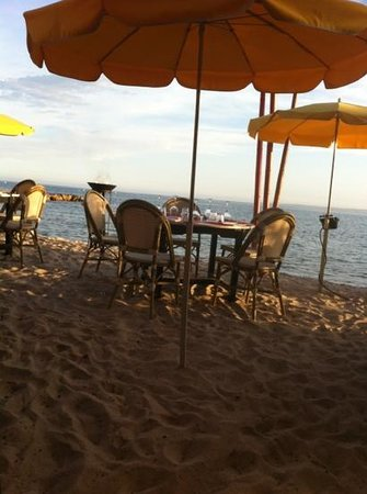 La Douce plage : super cadre