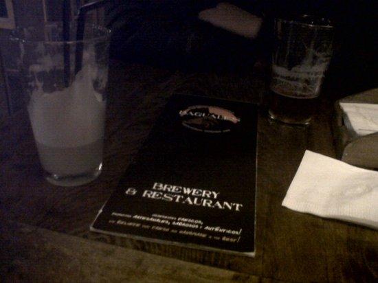 Baguales Brewery + Restaurant: No es la mejor foto, pero el sabor es imposible de olvidar