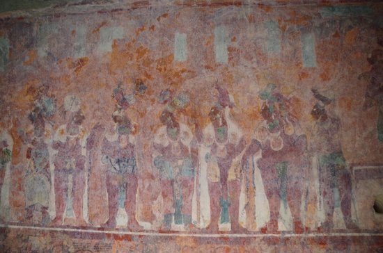Mayan Ruins of Bonampak: Mural