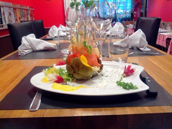 Le Cocteau: artichaut du chef miam miam :)