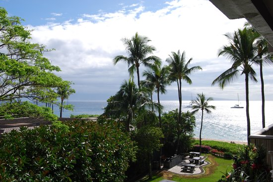 Aston at The Whaler on Kaanapali Beach: View from our room