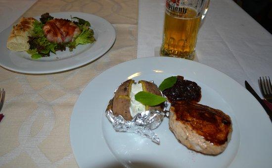 Sunset restaurant: Very tasty food!