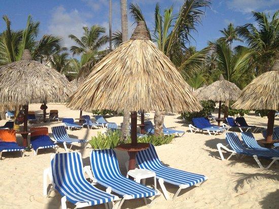 Luxury Bahia Principe Ambar Blue Don Pablo Collection: Beach area
