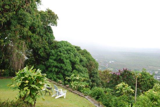 Ka'awa Loa Plantation : View from the lanai and yard