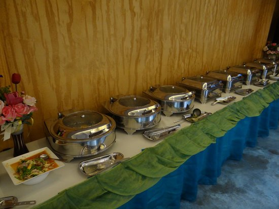Much-che Manta Boutique Hotel : buffet breakfast