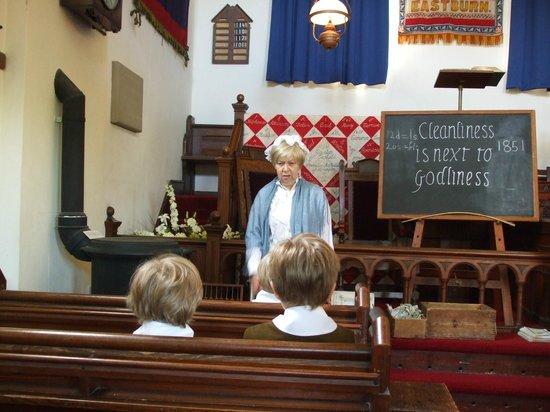 Englesea Brook Chapel & Museum: Victorian Sunday School