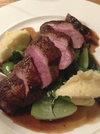 No. 4 Dine & Wine: Duck with Parsnip Mash...