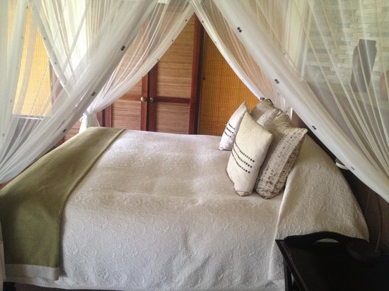 Impodimo Game Lodge: bed