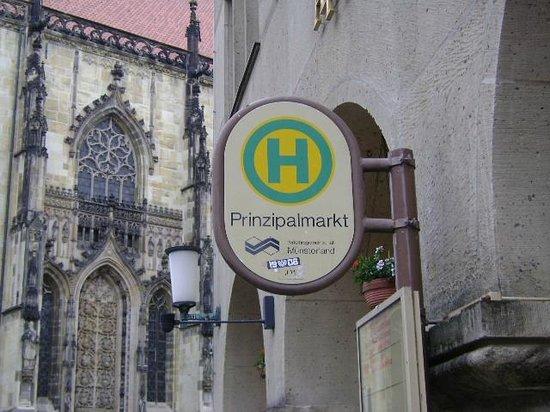 Prinzipalmarkt: Prinziplamarkt, Münster, Alemania.
