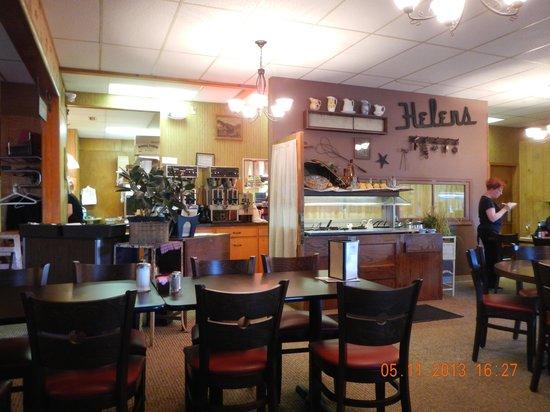 Helen's Pancake & Steak House: interior