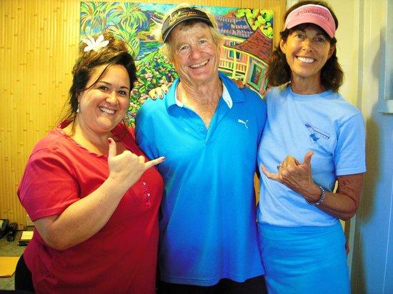Garden Island Inn : Friendly staff & owners...