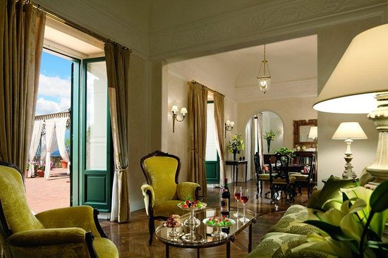 Belmond Grand Hotel Timeo: Living Room Of The Presidential Suite