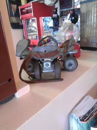 Island Delights: Antique Metal Roller Skates