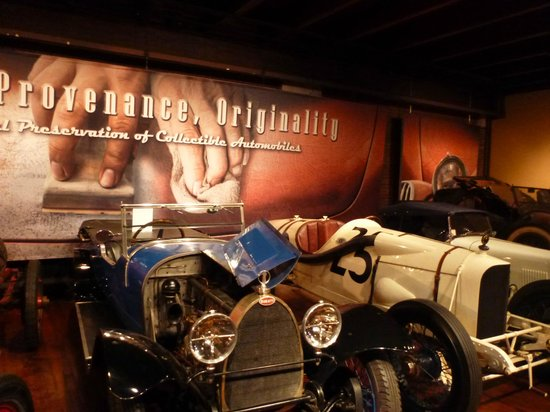 Larz Anderson Auto Museum - Museum of Transportation: another car exhibit
