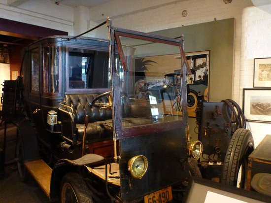 Larz Anderson Auto Museum - Museum of Transportation: One of the many car exhibits