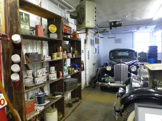 Larz Anderson Auto Museum - Museum of Transportation: Another interesting display