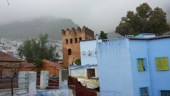 Riad Assilah Chefchaouen: Rooftop terrace view