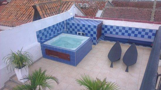 Hotel Casa Los Puntales: Jacuzzi en la Terraza