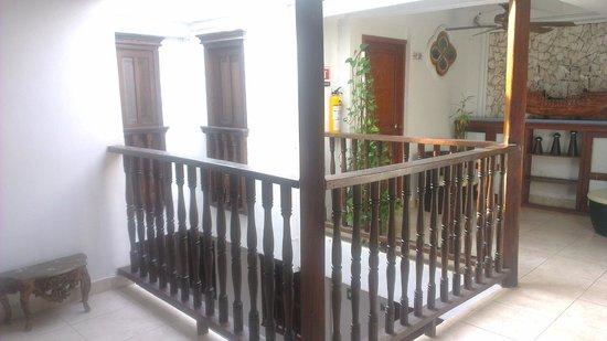 Hotel Casa Los Puntales: Vista Interior del Hotel