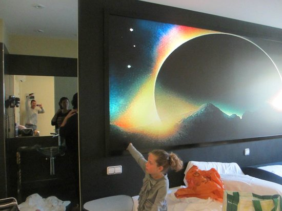 Hotel Indiana: The weirdest hotel room I´ve ever been in