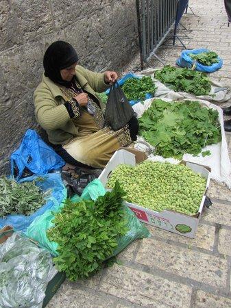 Das moslemische Viertel: Herbs for sale