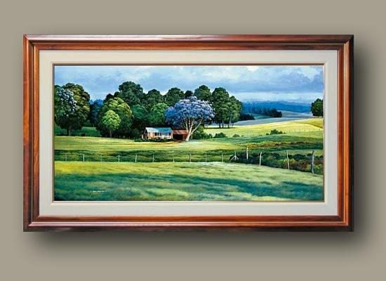 The Curtis Wilson Cost Gallery : Jacaranda Season
