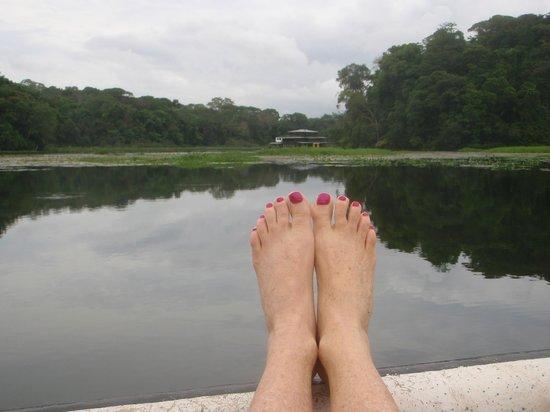 Jungle Land Panama Floating Lodge: Chillaxing !