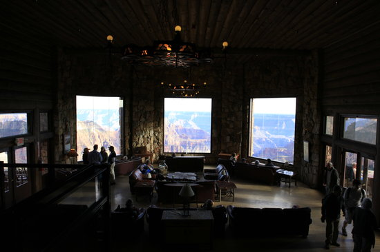 Grand Canyon Lodge - North Rim: View from the large lounge