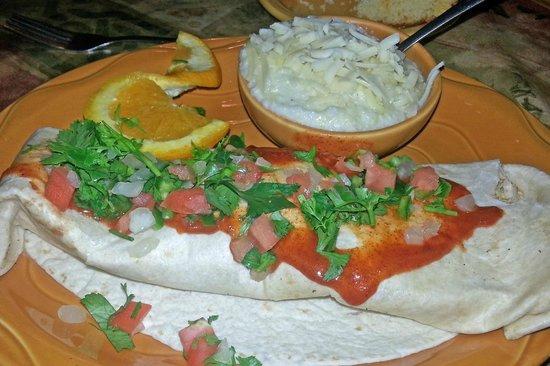 Barbara Jean's: My Big Spicy Burrito